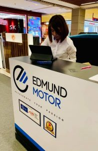 Resounding success at the Edmund Motor Road Show 8-14 April 2019, IMM.